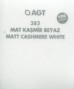AGT383 Kasmír texturált fehér