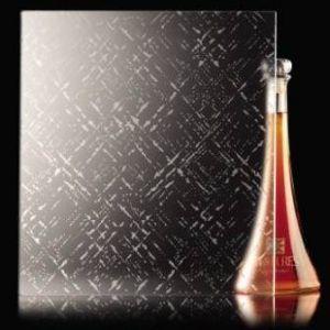 Savmart mintás üveg 02