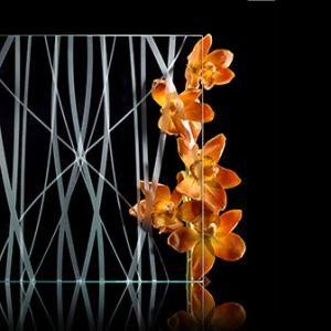 Savmart mintás üveg 06